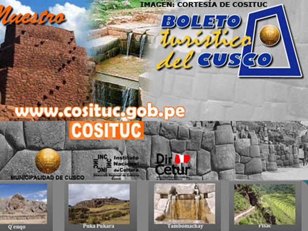 Portada de Cusco´s Tourist Ticket