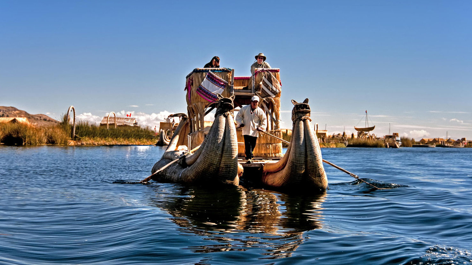 Foto 2 de Islands of Uros & Taquile full day