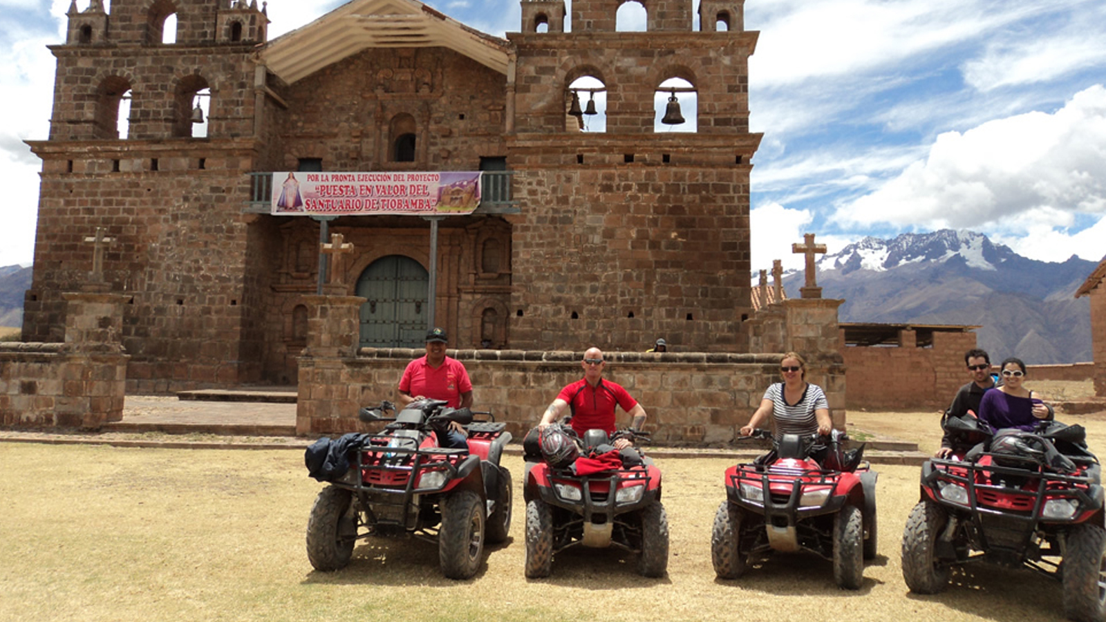Foto 1 de Maras - Moray by quad bike half-day