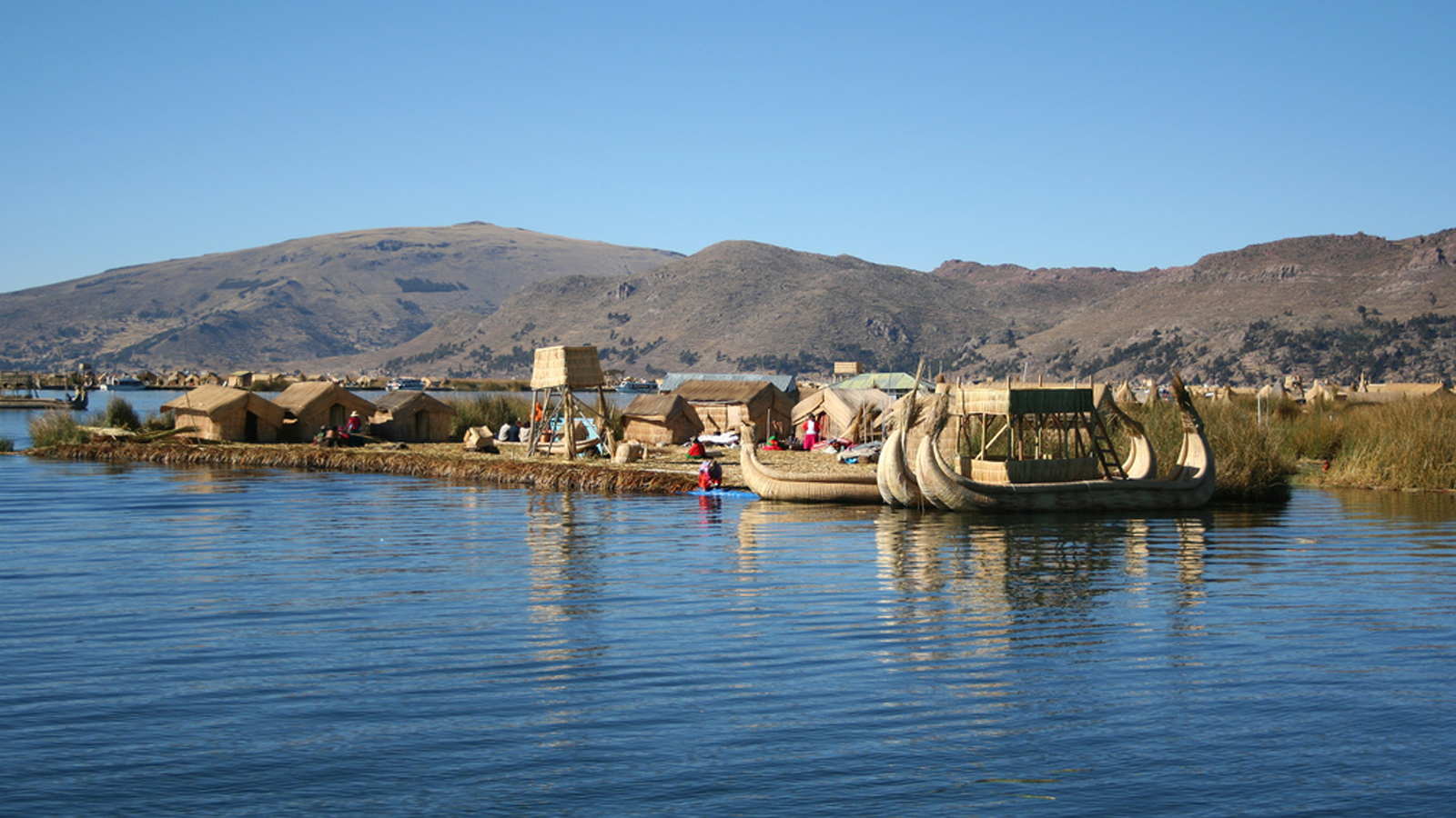 Foto 2 de Floating Islands of Uros half day Tour
