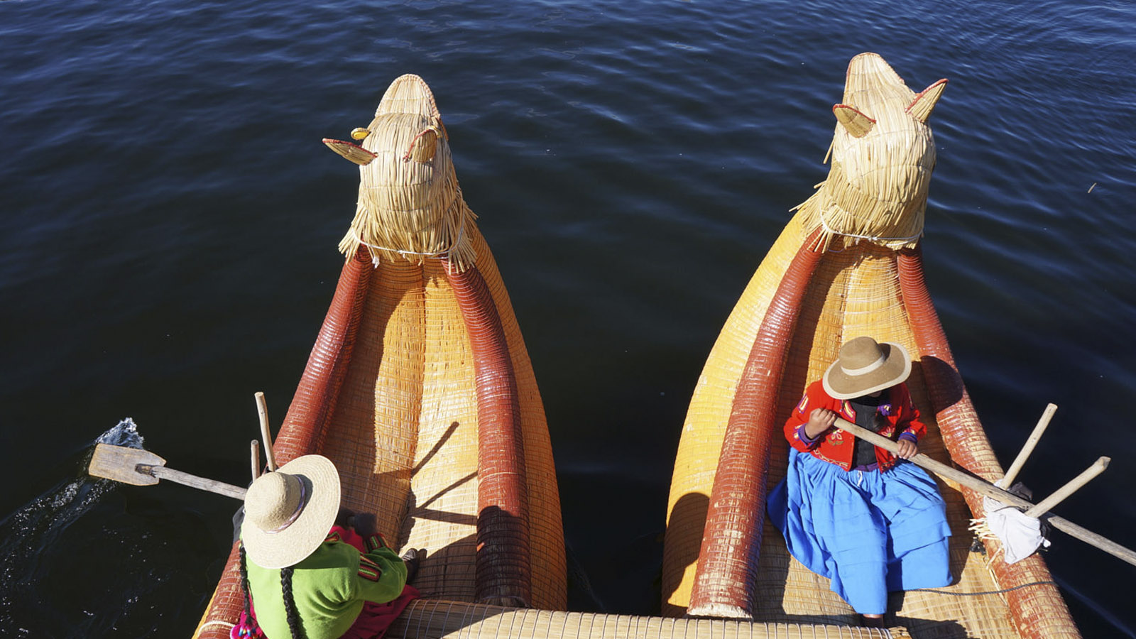 Foto 2 de Tour to Uros, Taquile & Amantani Islands