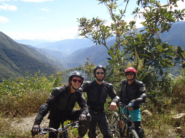 Portada de  Inca Jungle biking to Machu Picchu