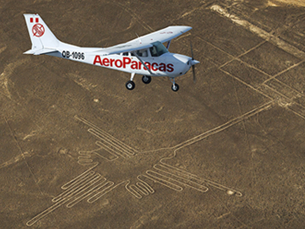 Portada de Half-Hour Flight over the Nazca Lines