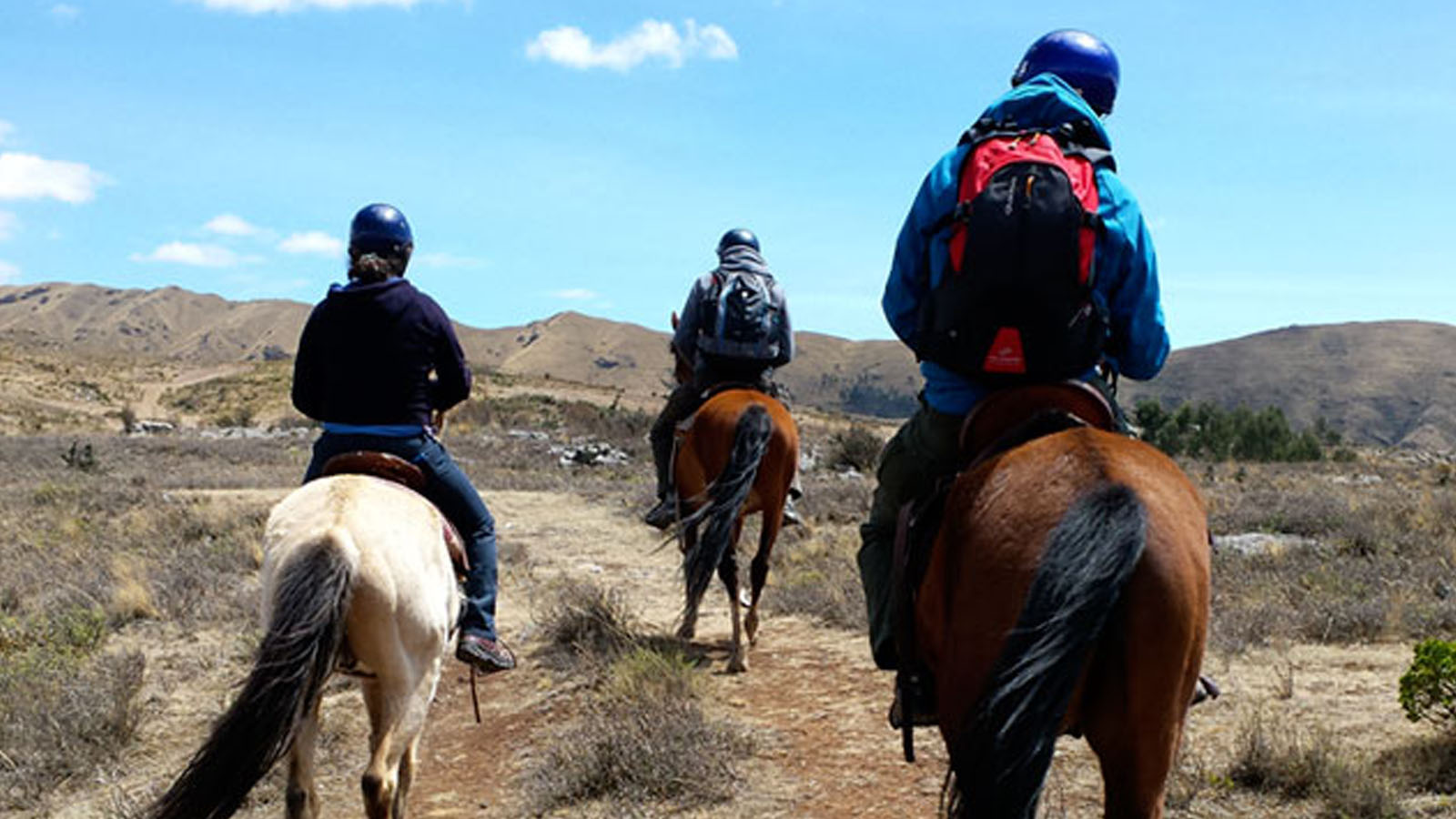 Portada de Horseback riding through 4 ruins in Cusco