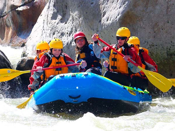 Portada de Rafting on the Chili River